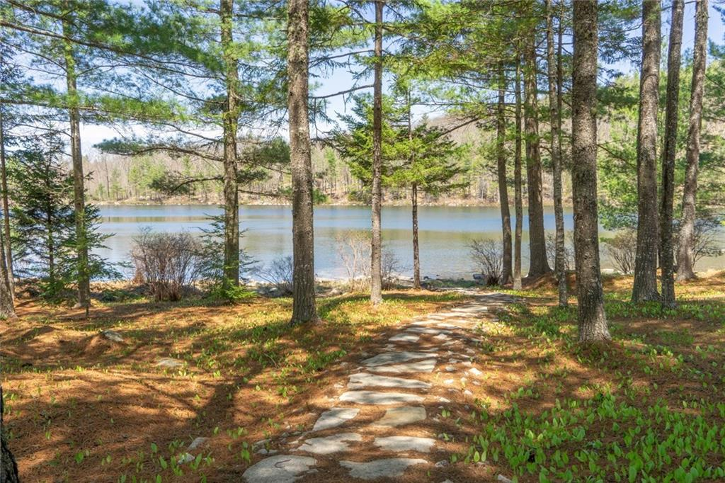 Woods and Water Maine Waterfront Home for sale on private pond - 7 rooms - 3 bedroom - 2 baths - 1.73 acres