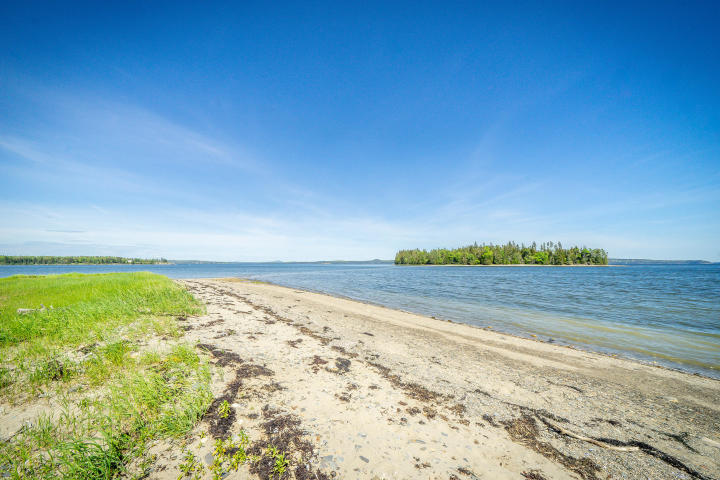 rambling 1830 oceanfront home for sale sited on 17+ acres of meadow and woods