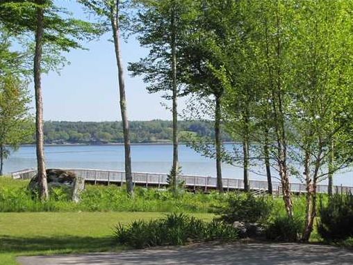 Penobscot Bay Views from Condo for sale on the coast of maine in Belfast, Maine