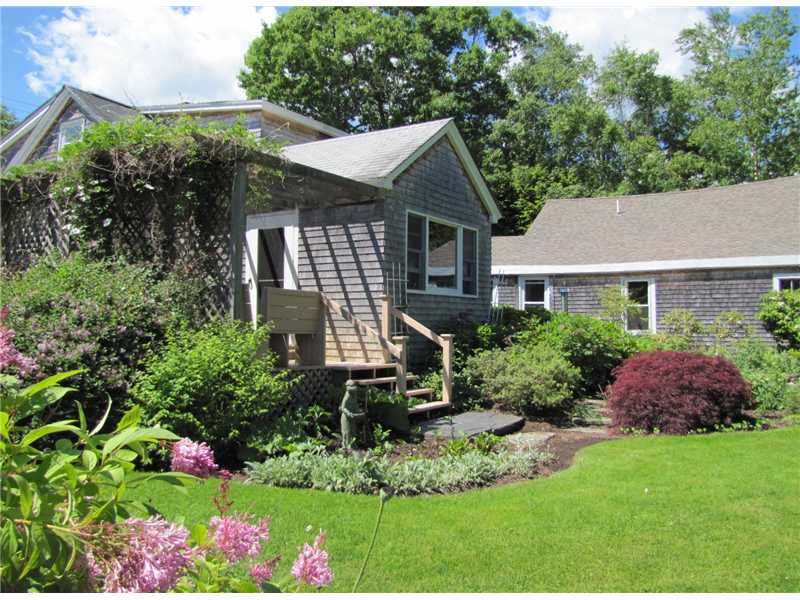 Charming home with spectacular gardens - Belfast,Maine Real Estate Listing