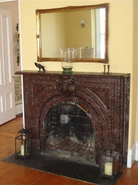 Wood Burning Fireplace - 17 Cedar St. Belfast, Maine