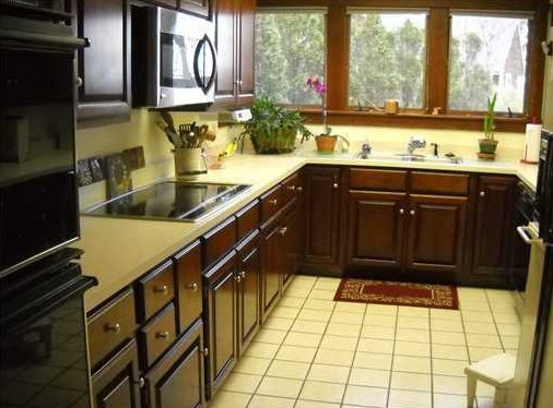 Kitchen in condo for sale in Lincolnville, Maine