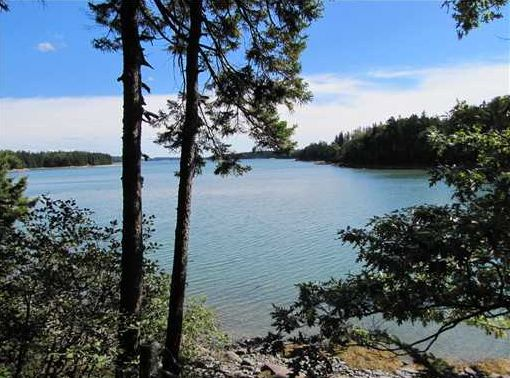 Real Estate Listing - Deer Isle, Maine - Maine Log Home on over 17 Acres
