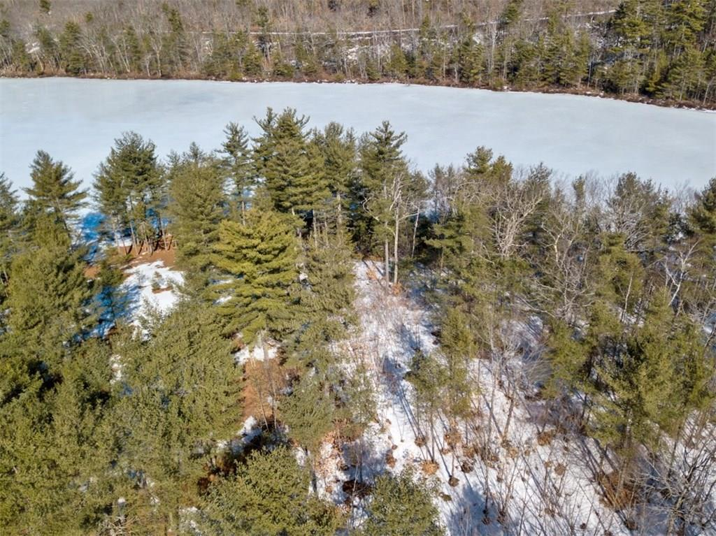 Maine waterfront lot on a blissfully private pond in a gated community for sale