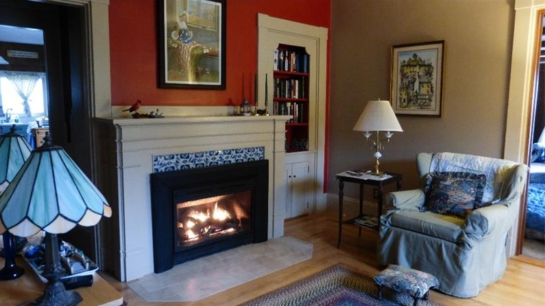 Gracious, 4-Bedroom In-Town Federal for sale in Belfast on the coast of Maine