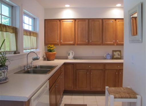 kitchen in condo for sale in Belfast, Maine