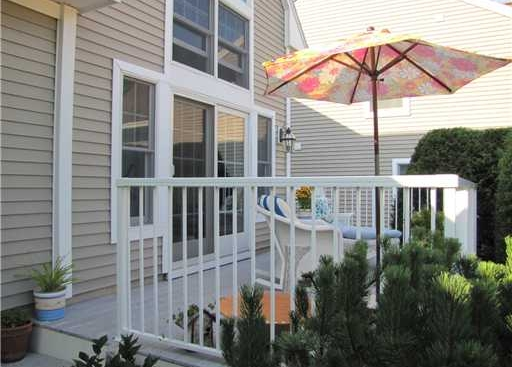 Condo for sale with deck in an Oceanfront Community on the coast of Maine