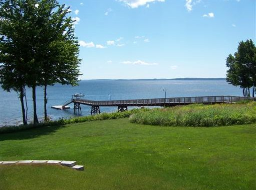 Condo for Sale in Belfast Maine - Dock and Boat Mooring on Penobscot Bay