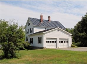 4-bedroom coastal Maine 1840's Colonial for sale ~ Northport, Maine
