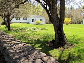 Coastal Maine Colonial with gorgeous stone wall, heirloom apple trees, abundant perennials