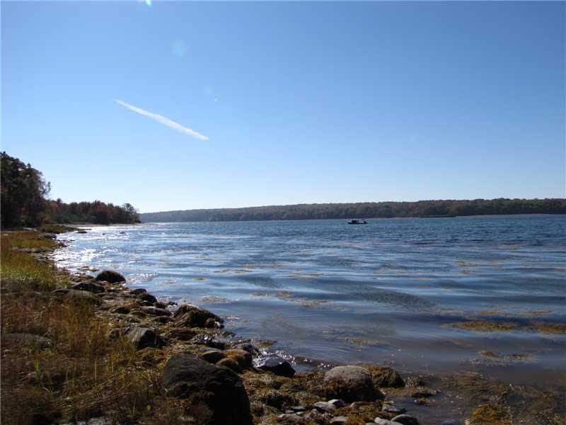 Close to the village of Stockton Springs, docks & yacht club