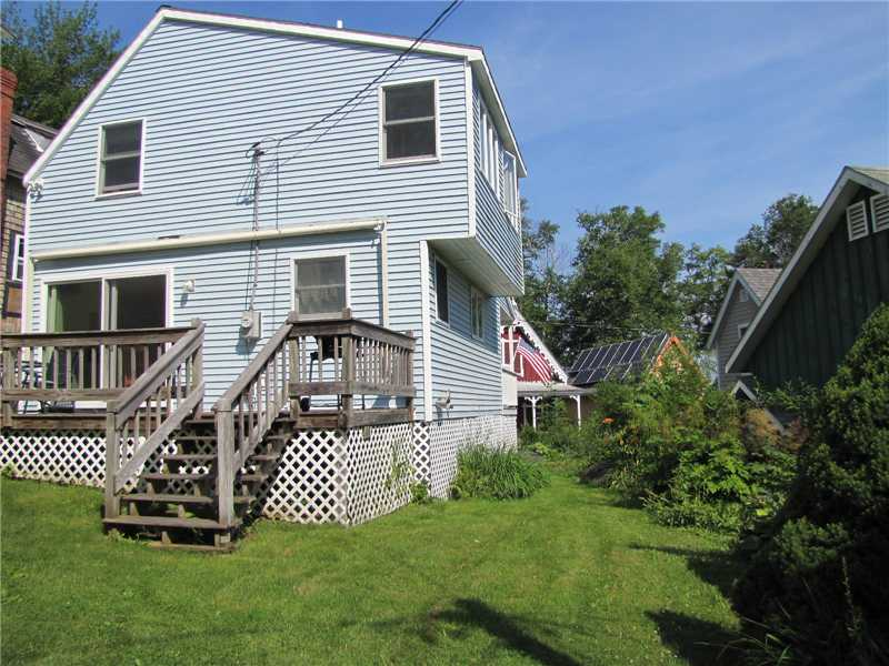Oceanfront Real Estate Listing - Home is complete with a large, 2-bedroom guest cottage with solid summer rental history