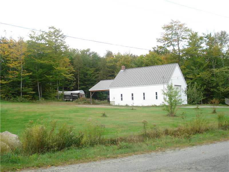 Land with Garage Listing - Hartland, Maine - Walk to Great Moose Lake