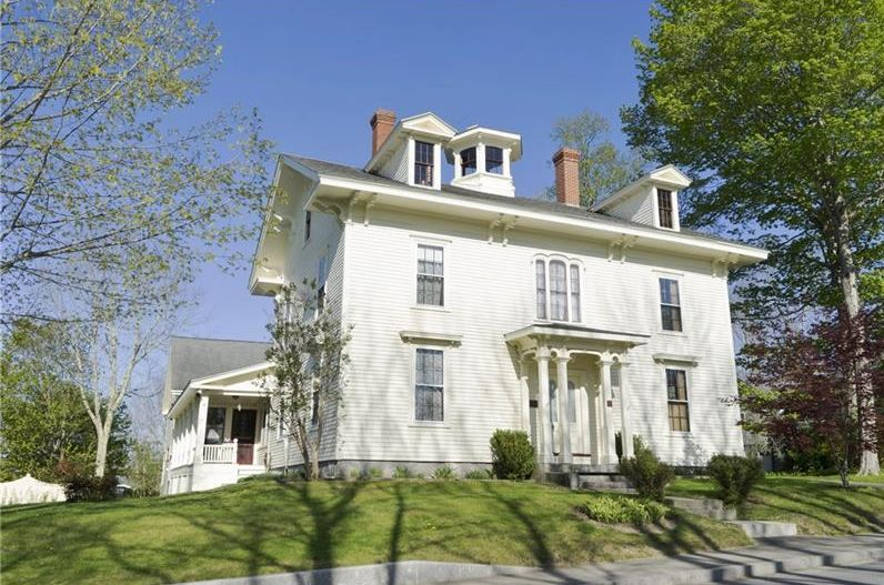 4 bedroom, 4.5 bath, Greek Revival for sale Belfast Maine