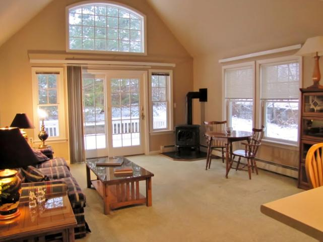 condo in an oceanfront condo community with a shared 300' deep-water dock- for sale - Belfast, Maine