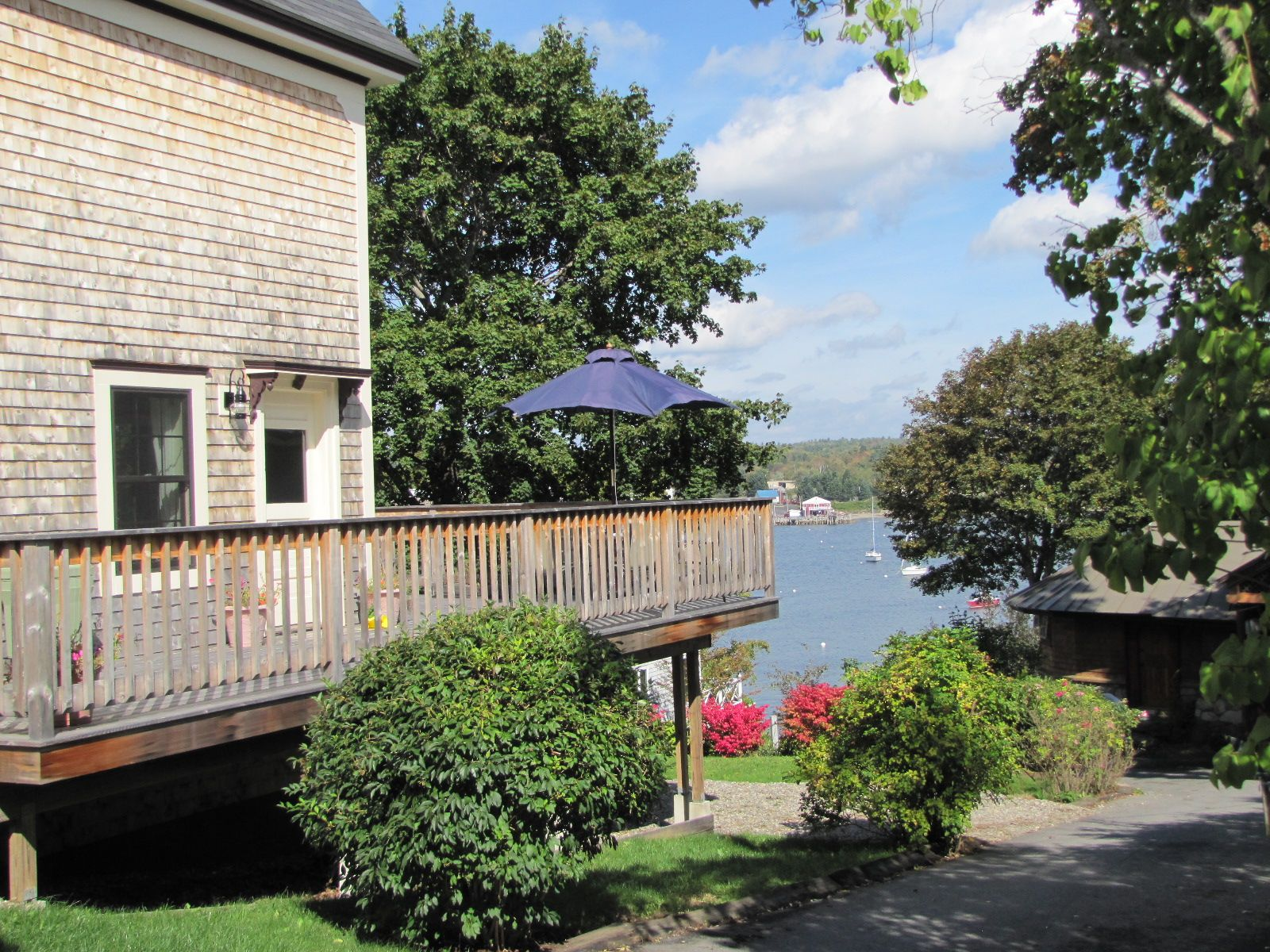 Real Estate Listing - Belfast, Maine - Views of Belfast Harbor