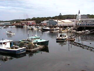 Boothbay Harbor Webcams - Boothbay, Maine - Webcam on the coast of Maine