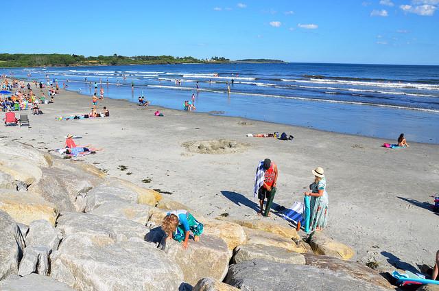 Web-Cam Higgins Beach in Scarborough, Maine