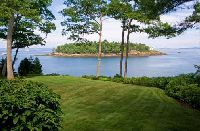 Waterfront Lot on the Coast of Maine - Maine Lakefront Land