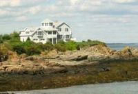 Oceanfront Home on the Coast of Maine