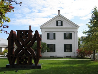 Photos of Robert Indiana - EAT & LOVE - Rockland Maine - Farnsworth Museum