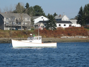 Maine Lobsterboat - Bass Harbor Maine