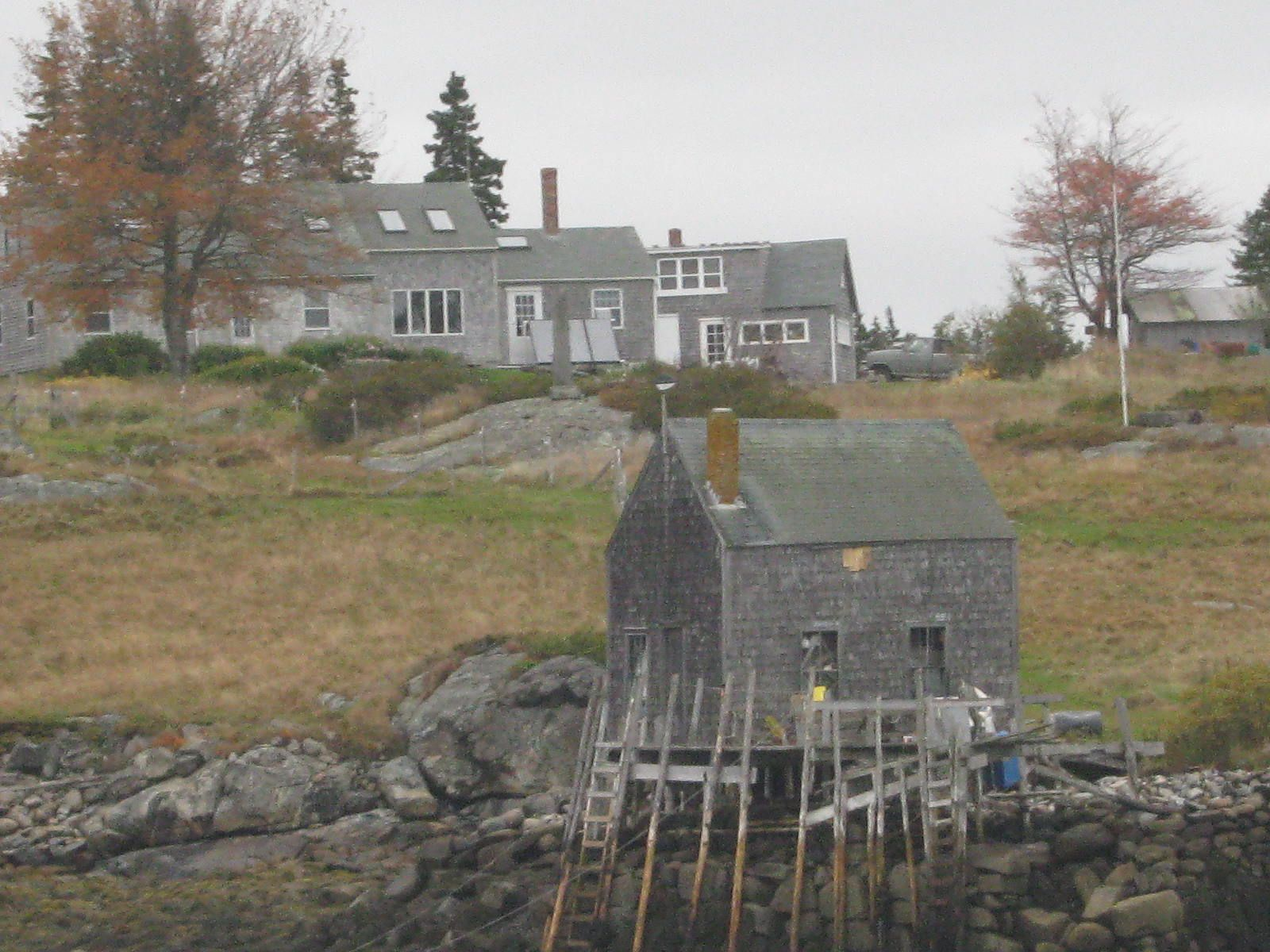 Maine Oceanfront Home on the Island of Vinalhaven in Maine's Penobscot Bay