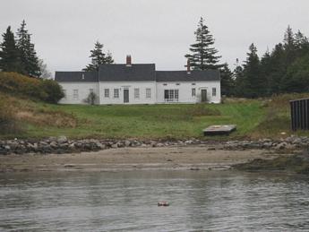Fisherman's oceanfront home in Maine