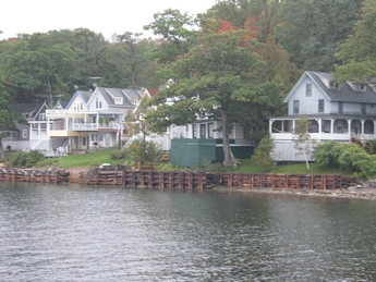 waterfront sibley maine estate sale cottages cottage for on canaan pond real