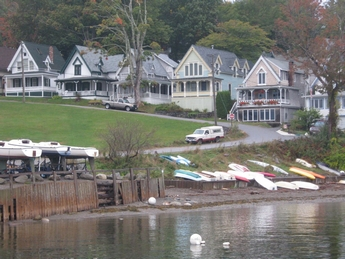 Oceanfront Cottages Bayside Maine