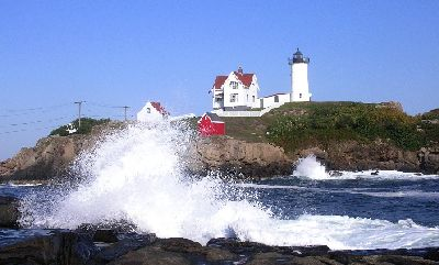 Pemaquid Lighthouse - Bristol, Mainee - Webcam on the coast of Maine