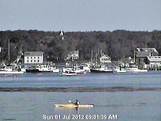 The Kennebunkport Conservation Trust Webcam - Webcam on the coast of Maine