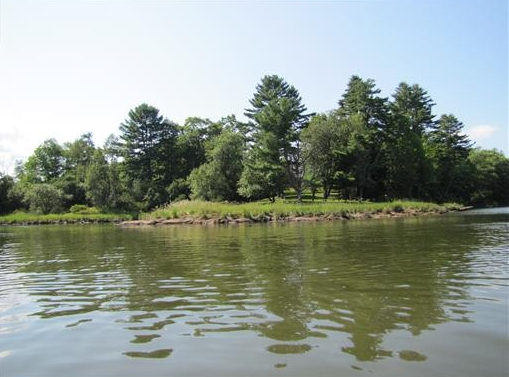 Passagassawakeag River in Belfast, Maine