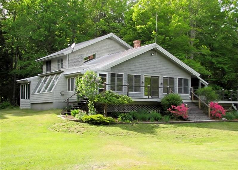 4 bedroom, 2 bath, waterfront home on Sandy Pond for sale 