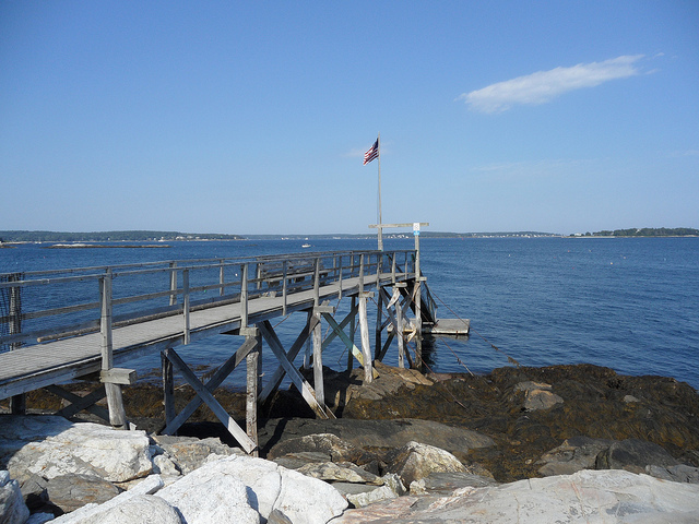Web-Cam Southport Maine