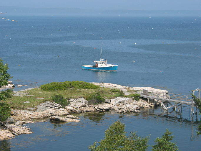 Southport Webcams - Boothbay Region, Maine - Webcam on the coast of Maine
