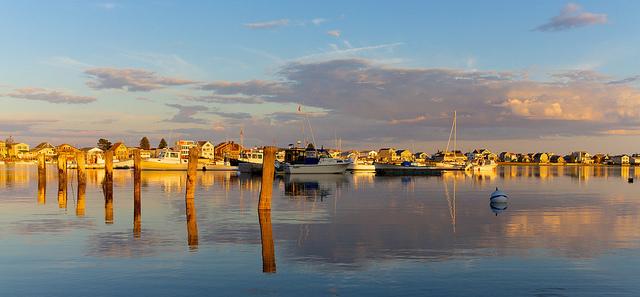 Web-Cam Wells Harbor in Wells, Maine